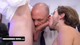 Hot Twink Boy Accepts To Join The Missionary Boys If They Complete His Dream Of An All Men Threesome
